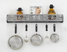 Hi-Lite MFG Co. H-80-34Y-B-BK01/B-COP - POT RACK COLLECTION