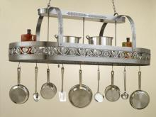 Hi-Lite MFG Co. H-86Y-D-BK01 W/CI - POT RACK COLLECTION