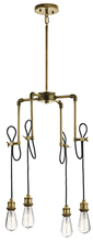 Kichler 43587NBR - Mini Chandelier 4Lt
