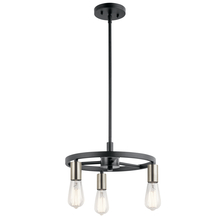 Kichler 44197MBK - Mini Chandelier/Semi-Flush 3Lt