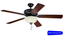 "Craftmade C208ABZ - Pro Builder 208 52"" Ceiling Fan with Light in Aged Bronze Brushed (Blades Sold Separately)"