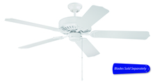 "Craftmade C52W - Pro Builder 52"" Ceiling Fan in White (Blades Sold Separately)"
