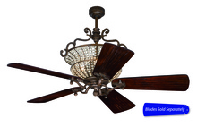 "Craftmade CR52PR - Cortana 52"" Ceiling Fan in Peruvian Bronze (Blades Sold Separately)"