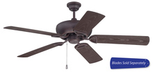 "Craftmade LW52OBG - Leeward 52"" Ceiling Fan in Oiled Bronze Gilded (Blades Sold Separately)"