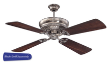 "Craftmade MNR52TS - Monroe 52"" Ceiling Fan in Tarnished Silver (Blades Sold Separately)"