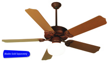 "Craftmade OPXL52RI - Outdoor Patio 52"" Ceiling Fan in Rustic Iron (Blades Sold Separately)"