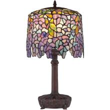 Quoizel TF1139T - Purple Wisteria Table Lamp