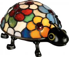 Quoizel TF6031VB - Flowered Ladybug Table Lamp