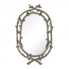Sterling Industries 114-21 - Brampton-Silver Leaf Wrapped Branch Mirror