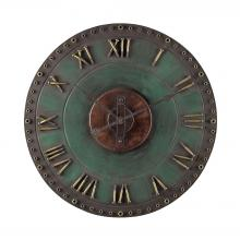 Sterling Industries 128-1004 - Metal Roman Numeral Outdoor Wall Clock