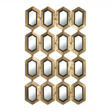 Sterling Industries 132-008 - Donaskeigh Honeycomb Mirror
