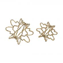 Sterling Industries 3138-273/S2 - Antikythera 2 Piece Accessory Set In Gold Leaf