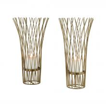 Sterling Industries 3200-163/S2 - Waves of Grain Candle Holders