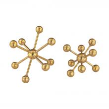 Sterling Industries 351-10173/S2 - Decorative Gold Molecules