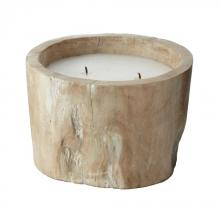 Dimond 784042 - White Pepper Log Candle - Small
