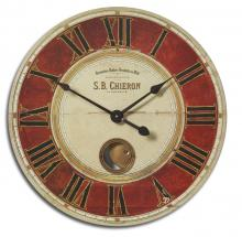 "Uttermost 06042 - Uttermost S.B. Chieron 23"" Wall Clock"