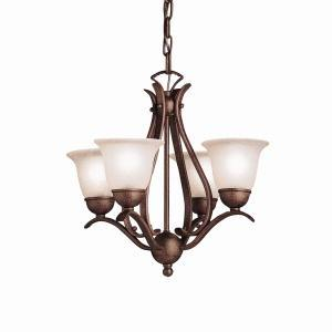 Kirby Risk in Lafayette, Indiana, United States, Kichler 2019TZ, Mini Chandelier 4Lt, Dover