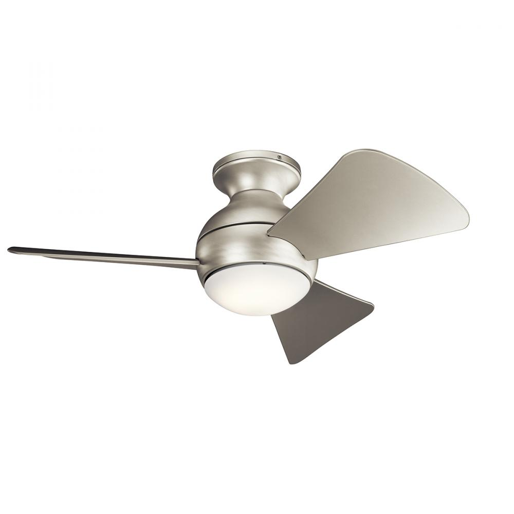 Kirby Risk in Lafayette, Indiana, United States, Kichler 330150NI, 34 Inch Sola Fan Led, Sola