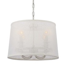 Crystorama 2294-PN - Libby Langdon for Crystorama Culver 4 Lt Polished Nickel Mini Chandelier