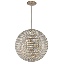 Crystorama 7805-DT - 5 Light Distressed Twilight Glam Crystal Eclectic Chandelier Draped In Square Faceted Jewels Crystal