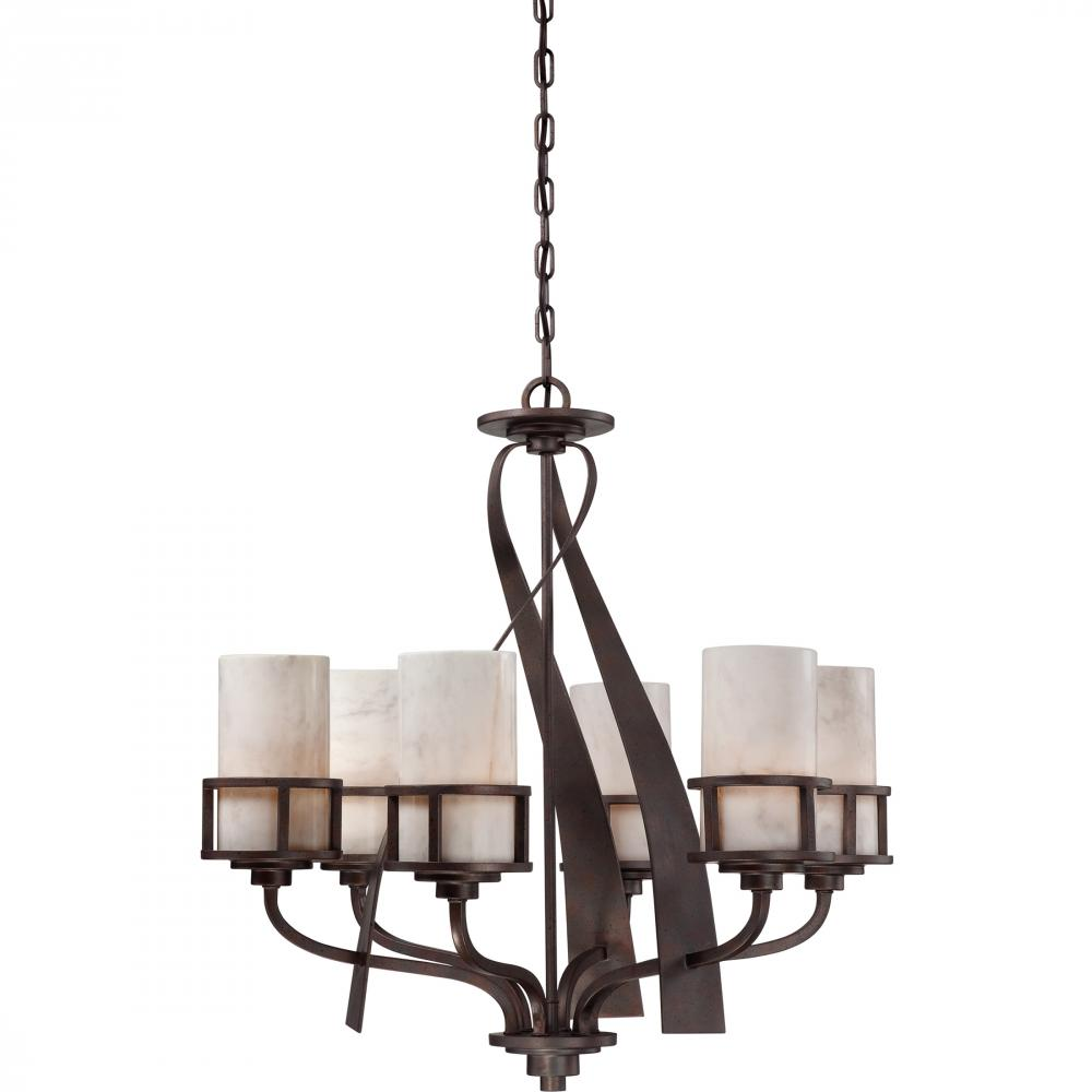 Kirby Risk in Lafayette, Indiana, United States, Quoizel KY5006IN, Kyle Chandelier, Kyle