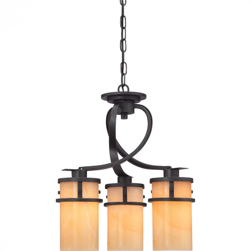 Kirby Risk in Lafayette, Indiana, United States, Quoizel KY5503IB, Kyle Dinette Chandelier,