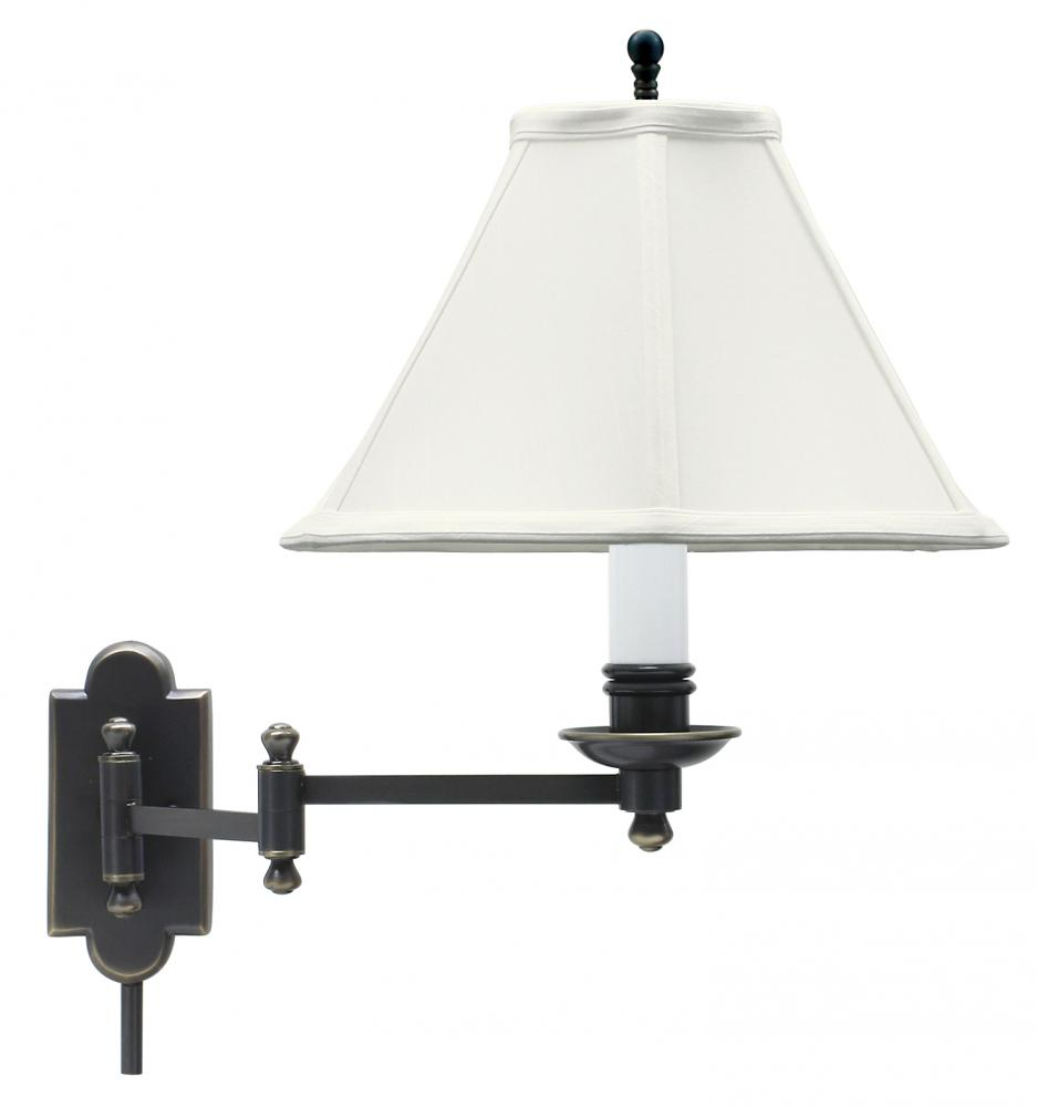 Kirby Risk in Lafayette, Indiana, United States, House of Troy CL225-OB, Club Wall Swing Arm Lamp, Club