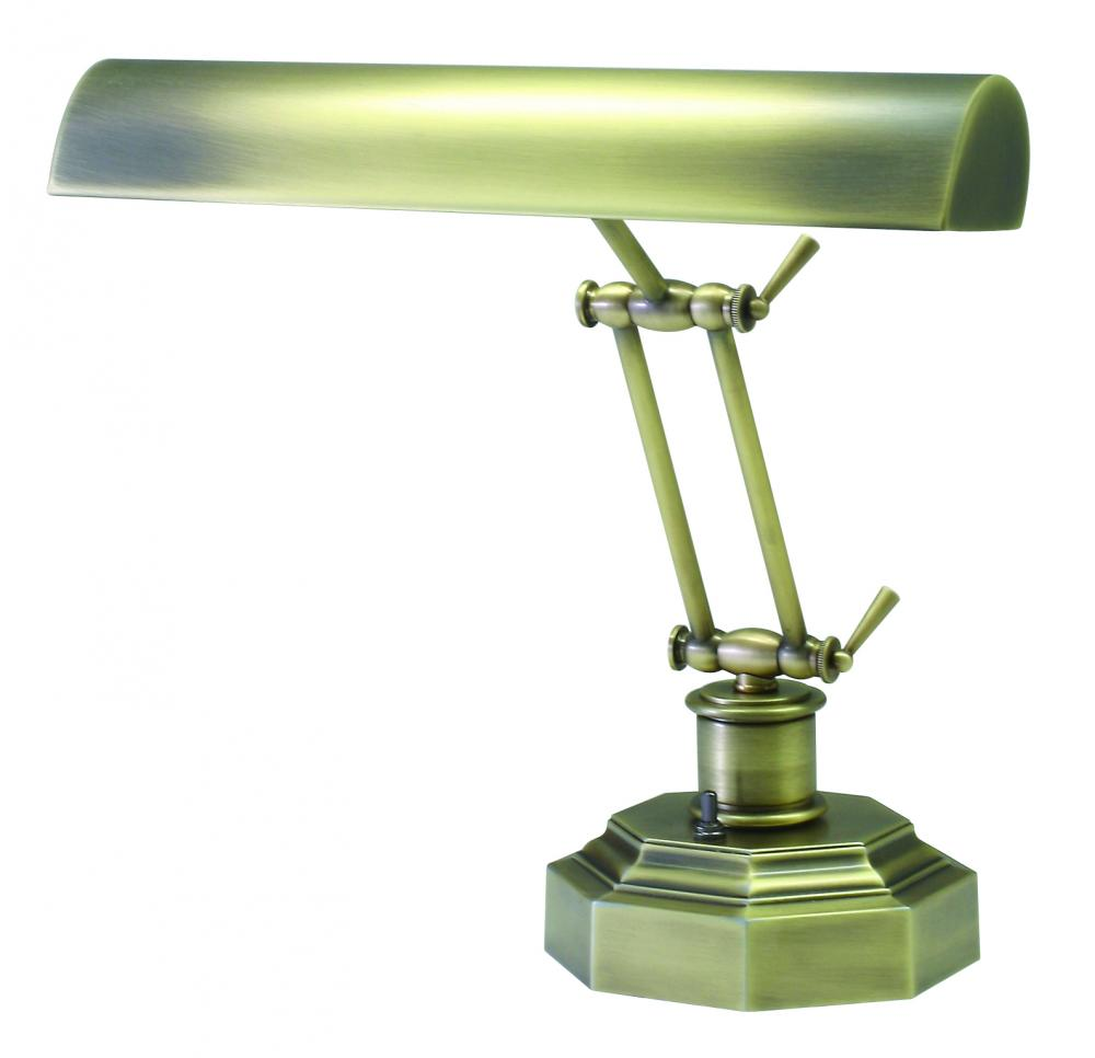 Kirby Risk in Lafayette, Indiana, United States, House of Troy P14-203-AB, Desk/Piano Lamp, Piano/Desk