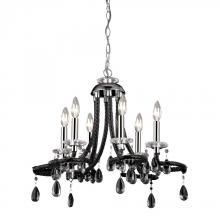 Sterling Industries 144-030 - Six Light Chrome Up Mini Chandelier