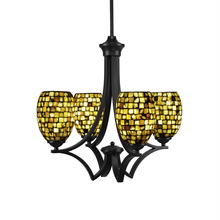 Toltec Company 564-MB-408 - Chandeliers