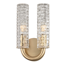 Hudson Valley 8010-AGB - 2 Light Wall Sconce
