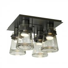 Hubbardton Forge 128710-SKT-03-ZM0467 - Erlenmeyer 4 Light Semi-Flush