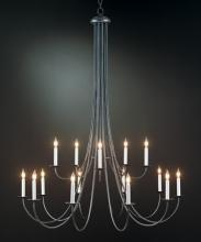 Hubbardton Forge 191043-SKT-03 - Simple Sweep 15 Arm Chandelier