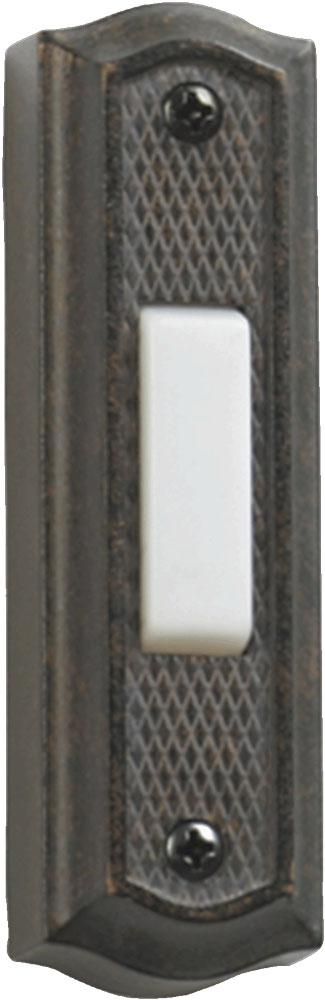Kirby Risk in Lafayette, Indiana, United States, Quorum 7-301-44, ZINC DOOR BUTTON - TS,