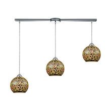 ELK Lighting 10518/3L - Illusions 3-Light Linear Bar In Polished Chrome